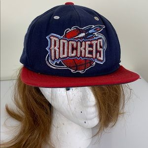 Vintage Houston Rockets snap back hat